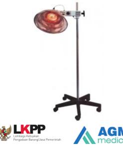 Infrared Lamp 4003 2N Fysiomed